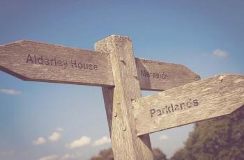 Alderley Park Signposts