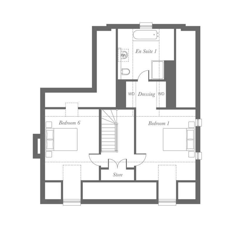 Fielding Plus Second Floor Floorplan